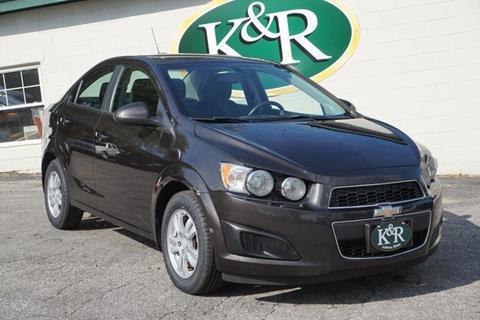 2015 Chevrolet Sonic for sale in Auburn, ME