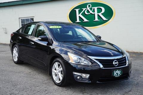 2015 Nissan Altima for sale in Auburn, ME