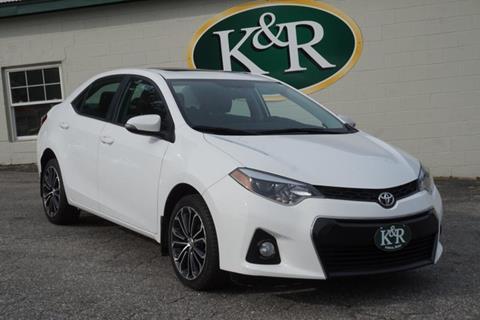 2016 Toyota Corolla for sale in Auburn, ME