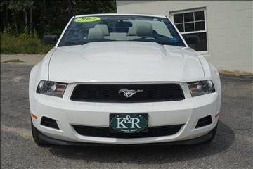 2012 Ford Mustang for sale in Auburn, ME