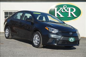 2015 Toyota Corolla for sale in Auburn, ME