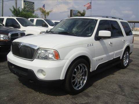 2003 Lincoln Navigator for sale at TRANSCONTINENTAL CAR USA CORP in Ft Lauderdale FL