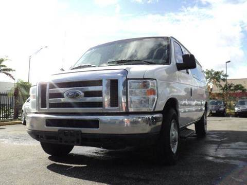 2008 Ford E-Series Wagon for sale at TRANSCONTINENTAL CAR USA CORP in Ft Lauderdale FL