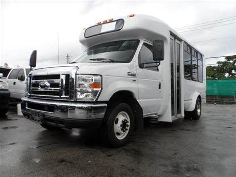 2009 Ford E-Series Chassis for sale at TRANSCONTINENTAL CAR USA CORP in Ft Lauderdale FL