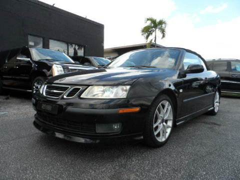 2004 Saab 9-3 for sale at TRANSCONTINENTAL CAR USA CORP in Ft Lauderdale FL