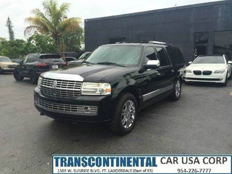 2007 Lincoln Navigator L for sale at TRANSCONTINENTAL CAR USA CORP in Ft Lauderdale FL