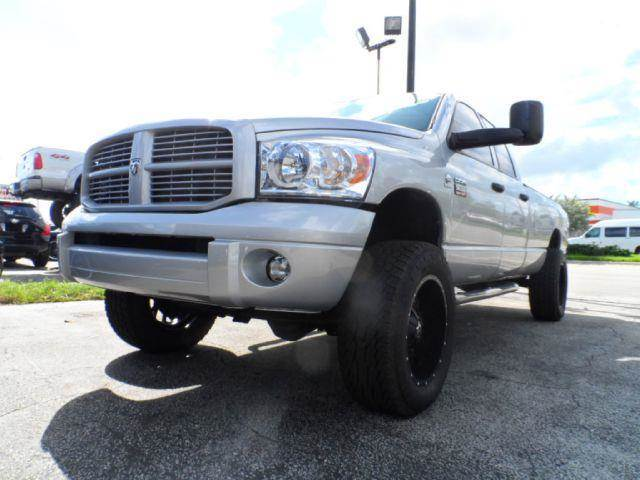 2008 Dodge Ram Pickup 3500 for sale at TRANSCONTINENTAL CAR USA CORP in Ft Lauderdale FL