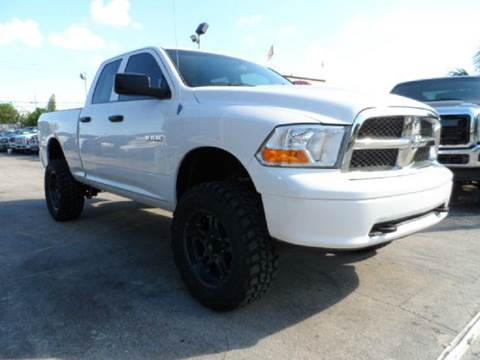 2010 Dodge Ram Pickup 1500 for sale at TRANSCONTINENTAL CAR USA CORP in Ft Lauderdale FL