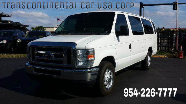 2010 Ford E-Series Wagon for sale at TRANSCONTINENTAL CAR USA CORP in Ft Lauderdale FL
