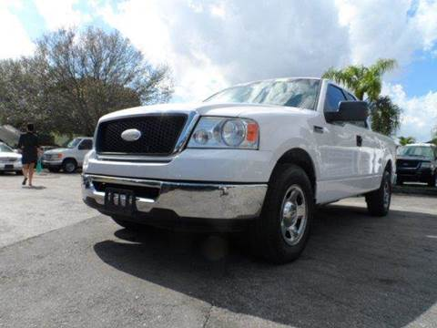 2007 Ford F-150 for sale at TRANSCONTINENTAL CAR USA CORP in Ft Lauderdale FL