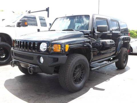2007 HUMMER H3 for sale at TRANSCONTINENTAL CAR USA CORP in Ft Lauderdale FL