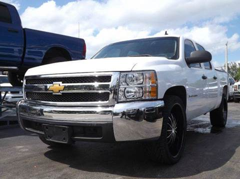 2008 Chevrolet Silverado 1500 for sale at TRANSCONTINENTAL CAR USA CORP in Ft Lauderdale FL