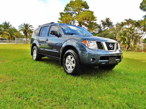 2005 Nissan Pathfinder for sale at TRANSCONTINENTAL CAR USA CORP in Ft Lauderdale FL