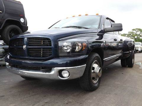2007 Dodge Ram Pickup 3500 for sale at TRANSCONTINENTAL CAR USA CORP in Ft Lauderdale FL