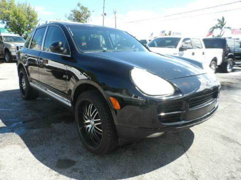 2004 Porsche Cayenne for sale at TRANSCONTINENTAL CAR USA CORP in Ft Lauderdale FL