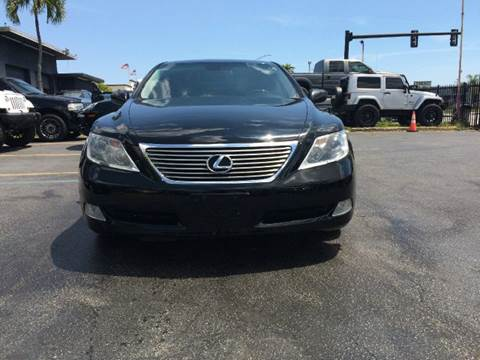 2009 Lexus LS 460 for sale at TRANSCONTINENTAL CAR USA CORP in Ft Lauderdale FL