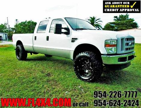2008 Ford F-350 Super Duty for sale at TRANSCONTINENTAL CAR USA CORP in Fort Lauderdale FL