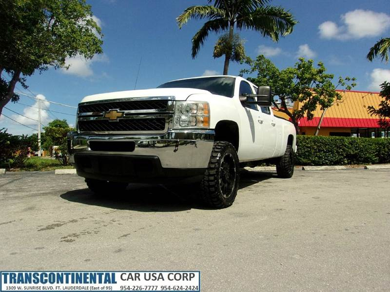 2011 Chevrolet Silverado 2500HD for sale at TRANSCONTINENTAL CAR USA CORP in Ft Lauderdale FL