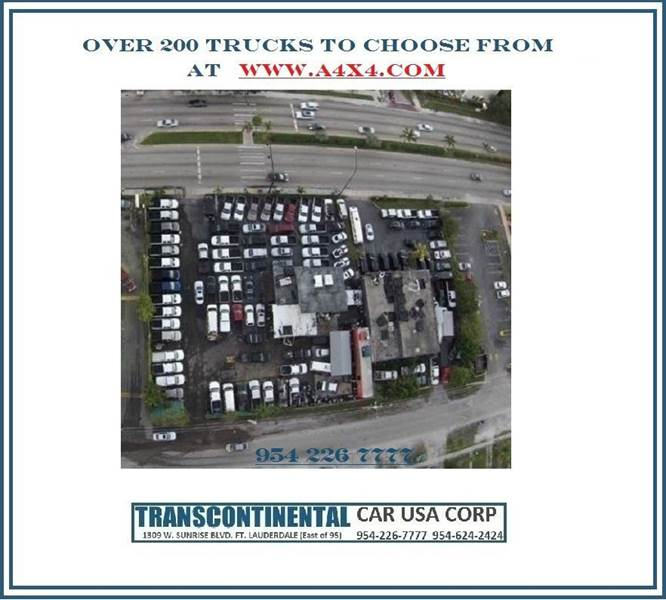 2010 Cadillac Escalade ESV for sale at TRANSCONTINENTAL CAR USA CORP in Fort Lauderdale FL