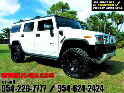 2008 HUMMER H2 for sale at TRANSCONTINENTAL CAR USA CORP in Ft Lauderdale FL