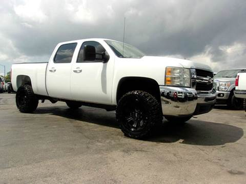 2008 Chevrolet Silverado 2500HD for sale at TRANSCONTINENTAL CAR USA CORP in Ft Lauderdale FL