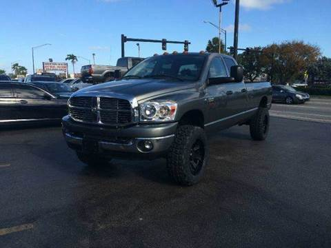 2009 Dodge Ram Pickup 3500 for sale at TRANSCONTINENTAL CAR USA CORP in Ft Lauderdale FL