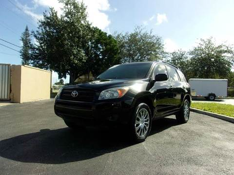 2007 Toyota RAV4 for sale at TRANSCONTINENTAL CAR USA CORP in Ft Lauderdale FL