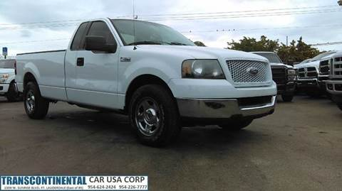 2004 Ford F-150 for sale at TRANSCONTINENTAL CAR USA CORP in Ft Lauderdale FL