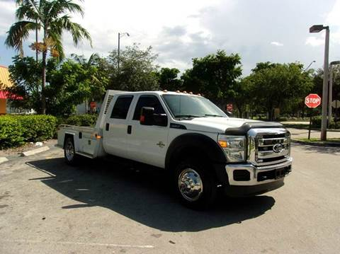 2011 Ford F-450 Super Duty for sale at TRANSCONTINENTAL CAR USA CORP in Ft Lauderdale FL