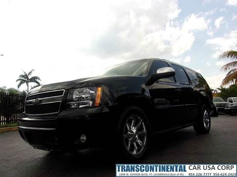 2008 Chevrolet Suburban for sale at TRANSCONTINENTAL CAR USA CORP in Ft Lauderdale FL