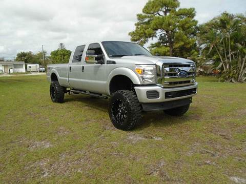 2013 Ford F-250 Super Duty for sale at TRANSCONTINENTAL CAR USA CORP in Fort Lauderdale FL