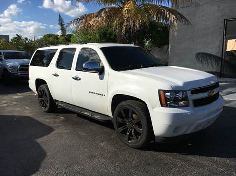 2007 Chevrolet Suburban for sale at TRANSCONTINENTAL CAR USA CORP in Ft Lauderdale FL