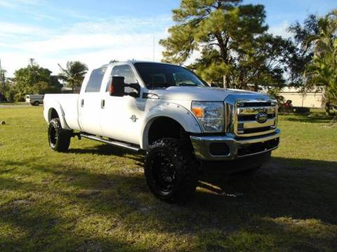 2014 Ford F-250 Super Duty for sale at TRANSCONTINENTAL CAR USA CORP in Ft Lauderdale FL