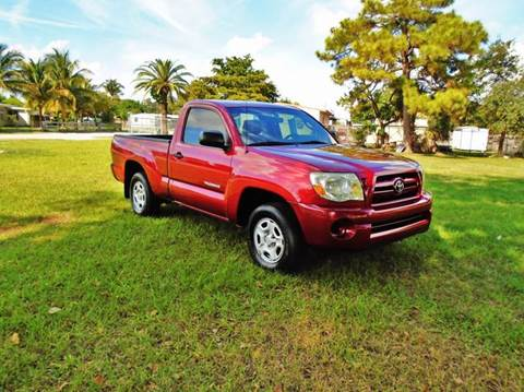 2008 Toyota Tacoma for sale at TRANSCONTINENTAL CAR USA CORP in Ft Lauderdale FL