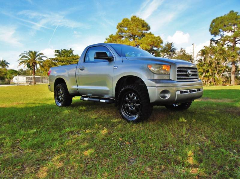 2007 toyota tundra base 2dr regular cab 4wd lb 4 7l v8 in ft lauderdale fl transcontinental. Black Bedroom Furniture Sets. Home Design Ideas