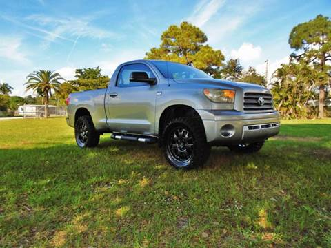2007 Toyota Tundra for sale at TRANSCONTINENTAL CAR USA CORP in Ft Lauderdale FL