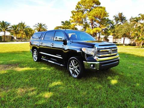 2014 Toyota Tundra for sale at TRANSCONTINENTAL CAR USA CORP in Ft Lauderdale FL