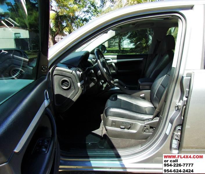 2006 Porsche Cayenne Transmission: 2006 Porsche Cayenne AWD 4dr SUV In Ft Lauderdale FL