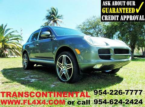 2006 Porsche Cayenne for sale at TRANSCONTINENTAL CAR USA CORP in Ft Lauderdale FL