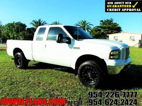 2004 Ford F-250 Super Duty for sale at TRANSCONTINENTAL CAR USA CORP in Ft Lauderdale FL