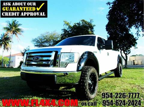 2010 Ford F-150 for sale at TRANSCONTINENTAL CAR USA CORP in Ft Lauderdale FL