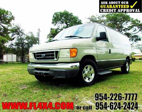 2005 Ford E-Series Wagon for sale at TRANSCONTINENTAL CAR USA CORP in Ft Lauderdale FL