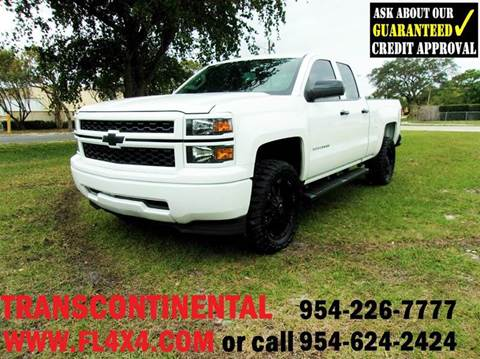 2014 Chevrolet Silverado 1500 for sale at TRANSCONTINENTAL CAR USA CORP in Ft Lauderdale FL