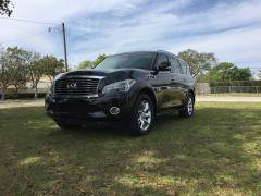 2011 Infiniti QX56 for sale at TRANSCONTINENTAL CAR USA CORP in Ft Lauderdale FL