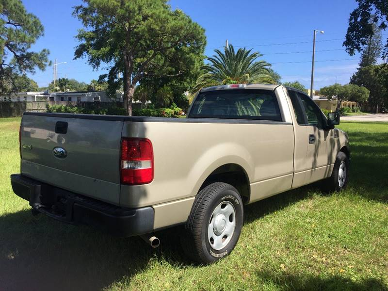2008 ford f 150 4x2 xl 2dr regular cab styleside 8 ft lb in ft lauderdale fl transcontinental. Black Bedroom Furniture Sets. Home Design Ideas