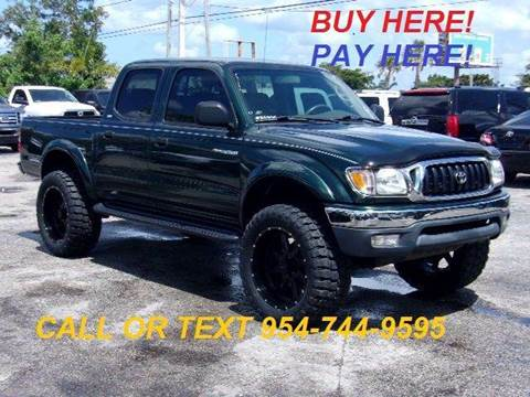 2002 Toyota Tacoma for sale at Transcontinental Car in Fort Lauderdale FL