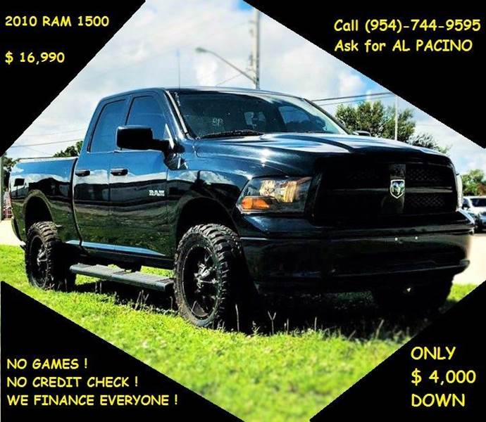 2010 Dodge Ram Pickup 1500 for sale at Transcontinental Car in Fort Lauderdale FL