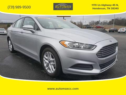 2014 Ford Fusion for sale in Henderson, TN