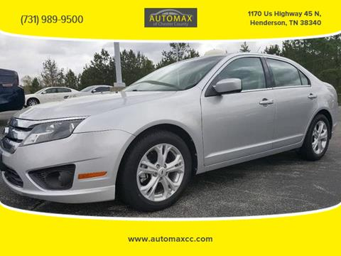 2012 Ford Fusion for sale in Henderson, TN