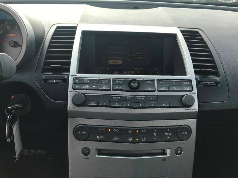 2005 nissan maxima factory navigation system